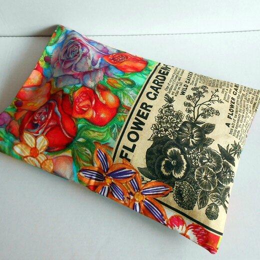 Pochette lingerie flower garden3