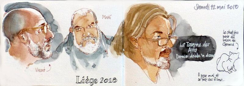 Vincent des Pyrénées, Marti de Barcelone et Arnaud du Luxembourg