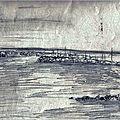Noirmoutier mer2 - aquarelle