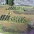 Du sérieux dans la plaine...le combat: les nains versus <b>morts</b> <b>vivants</b>.