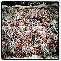 Pizza jambon -tomates séchées-champignons