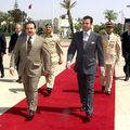 Prince Moulay Rachid and King Hamad Ben Issa Al Khalifa of Bahrain August 24, 2005