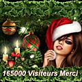 165000 visiteurs merci