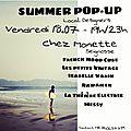 Summer pop-up tour #1