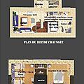plans du gîte 35