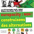 Europacity : forum-débat sur paris le mardi 8 novembre 2016 à 19h