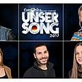 5 artistes sélectionnés pour la présélection allemande