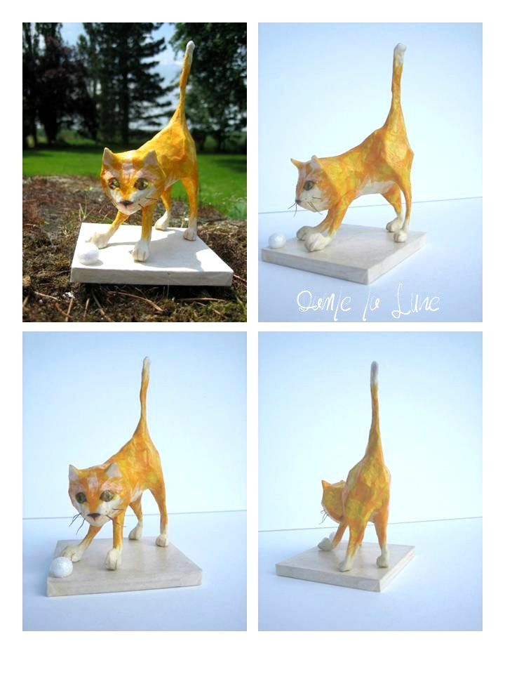 - FIGURINE, le chat Symba