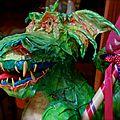 Mr le Dragon de sortie - Halloween 2015