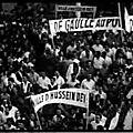 1958 - le général de gaulle prend la température en algérie française