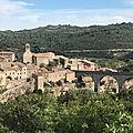 La cité <b>cathare</b> de Minerve (Hérault)