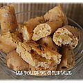 Baguettines apéritif chorizo oignons ( tm5 )