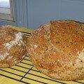 Versions améliorées du pain sans pétrissage!