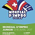 Le mondial d'impro junior 2017