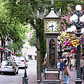 Gastown Steam Clock, Vancouver.