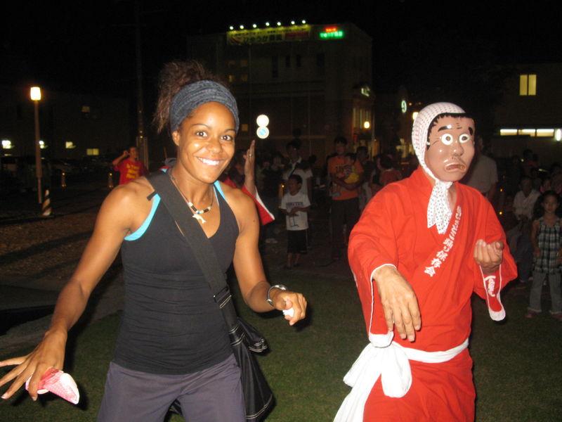 Les festivals sont toujours amusants!