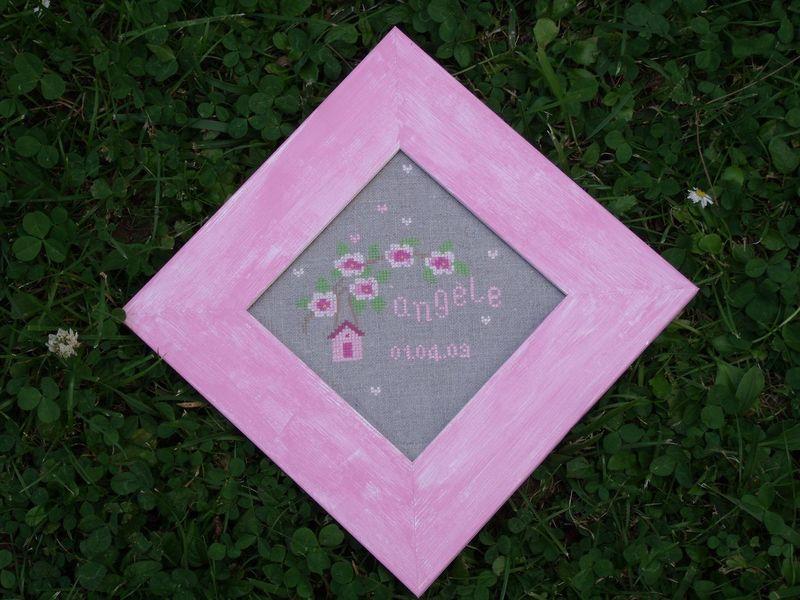 Le charmant tableau rose de Chantal