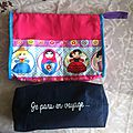 Duo de trousse de toilette