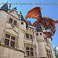 Poitiers, Hôtel Fumée et les <b>Légendes</b> du Poitou - Mélusine, licorne et le dragon