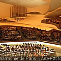 Inauguration de la <b>Philharmonie</b> de Paris