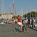 Une douce fin de journée <b>à</b> La Rochelle