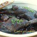 Cuisses de canard au madiran
