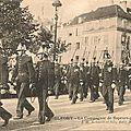 Quid de la carte postale du défilé de <b>Sapeurs</b>-<b>pompiers</b> à Belfort ?