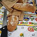 Baguette complète aux céréales