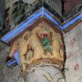 chapiteau, église de St-Germain l'Herm