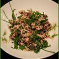 Salade de calamars persillée