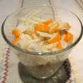 Salade acidulée de surimi