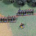 Aile gauche de cavalerie