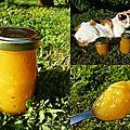 confiture mangues