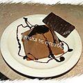 Panna cotta menthe chocolat