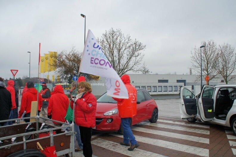 """Action """" UNIS CHEZ ECONOCOM """" en Belgique"""