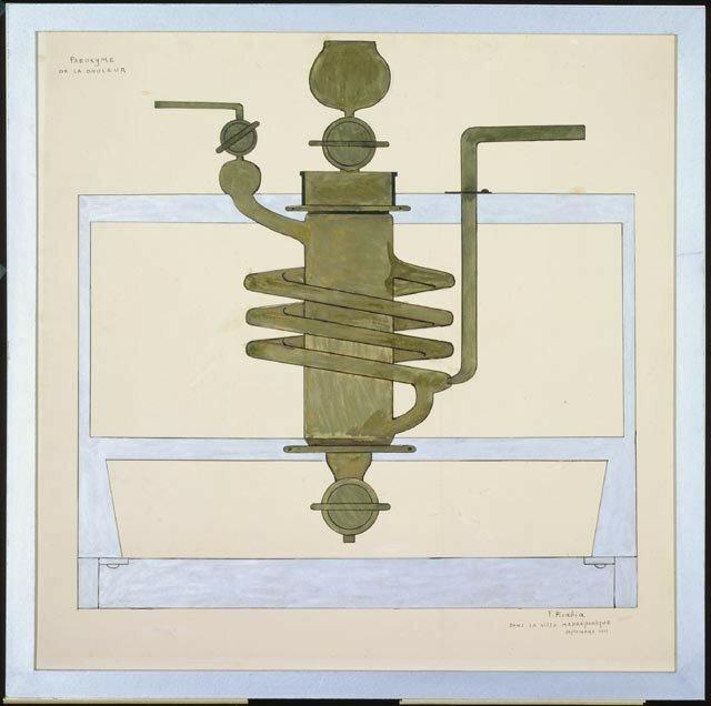 Francis Picabia, Paroxysme de la douleur, 1915
