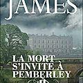 La mort s'invite à pemberley de p.d james
