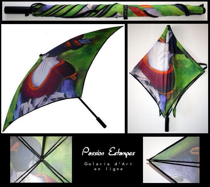 Parapluie Tatieva pour les Carrés Delos