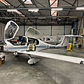 Visite de l'atelier Aéro Flandre Maintenance à Merville