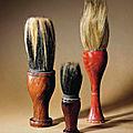 Three scholar's brushes, <b>18th</b>-<b>19th</b> <b>century</b>