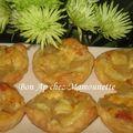 Pâte feuilletée maison une autre façon, tartelettes pommes et croissants apéro fromagés