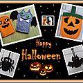 Halloween en feutrine