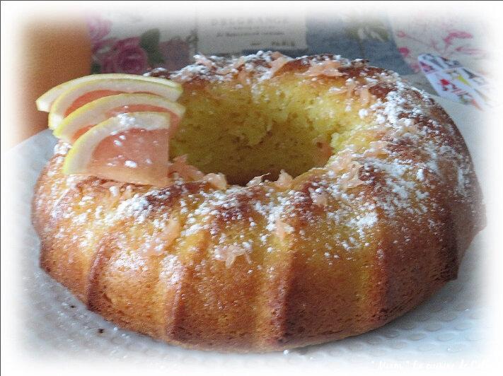 gâteau trempé pomelo1