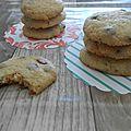 Cookies pepites de chocolat au lait