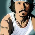 Johnny Depp sous les <b>vecteurs</b>
