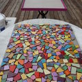 Table en mosaique