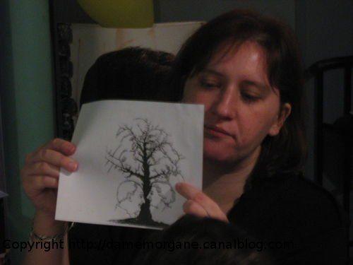 Illusion d'optique : l'arbre