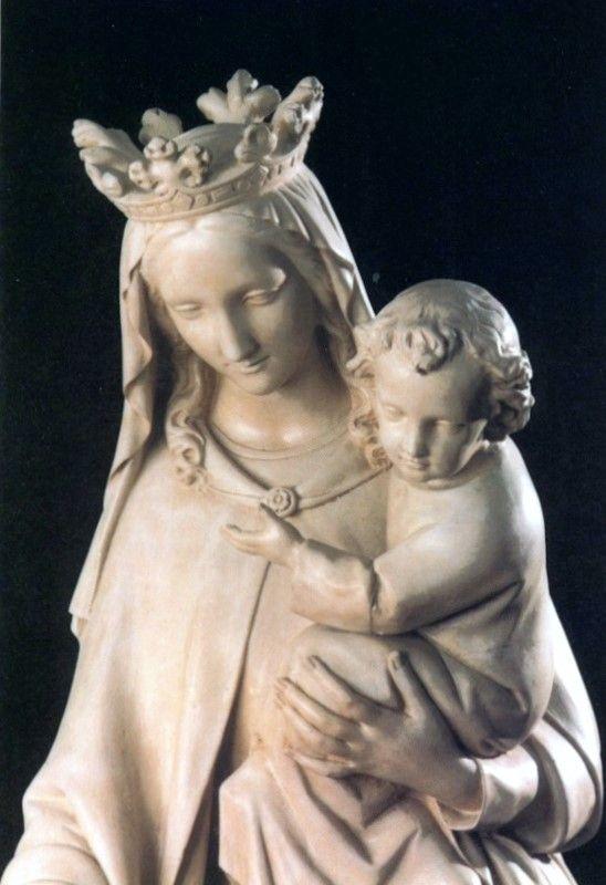 Chapelle ND de Toutes Grâces, Martillac, statue de ND