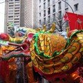 Chinese new year parade in paris - 13th district