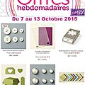 <b>Offre</b> <b>hebdomadaire</b> de Stampin'up